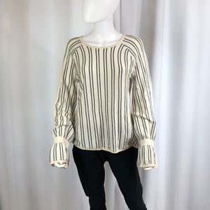Nordstrom Brand Sweater with Stripes